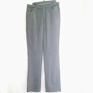 Womens size 10  Real Clothes leather pants